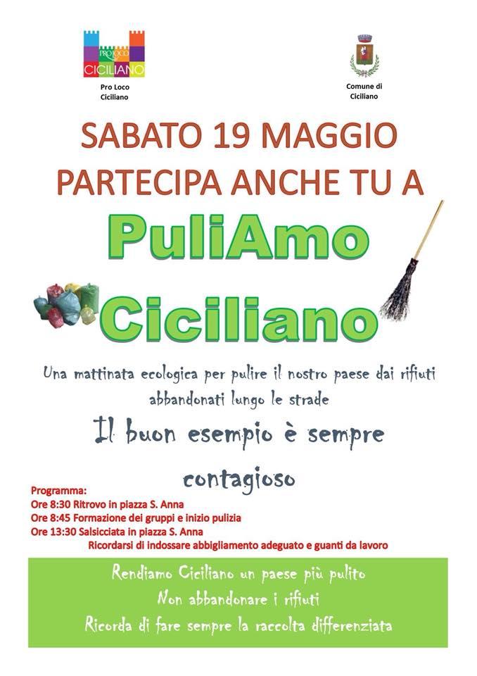 PuliAmo Ciciliano