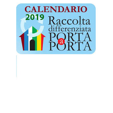 CALENDARIO RACCOLTA DIFFERENZIATA PRIMO SEMESTRE 2019