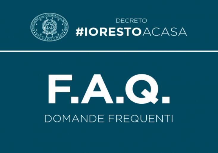 DPCM 9 marzo 2020 Decreto #IoRestoaCasa, domande frequenti sulle misure adottate dal Governo