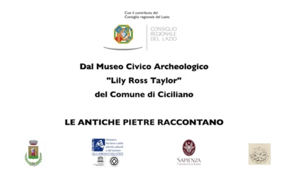 Dal Museo Civico Archeologico - Lily Ross Taylor