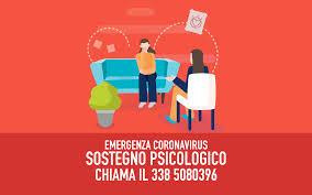EMERGENZA COVID-19 ATTIVO IL SERVIZIO DI SOSTEGNO PSICOLOGICO